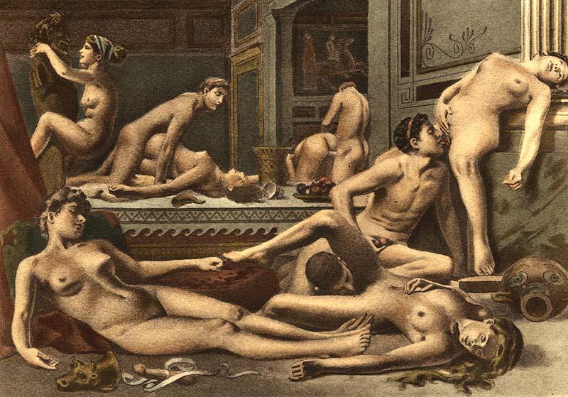 orgie de style romain grosses queues adolescent chatte